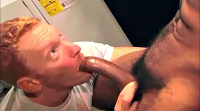 Hairy, Swallow, Interracial