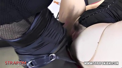 Spank, Face, Strapon, Waxing, Wax, Spank pussy