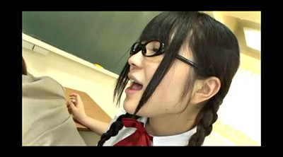 Glasses, Japanese lesbian, Japanese teacher