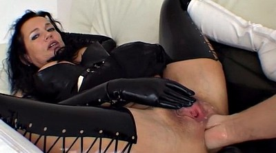 Latex, Mature anal, Abuse, Anal milf