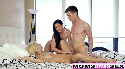 Indian, Mom n son, Surprise threesome