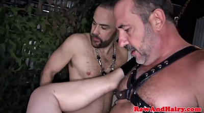 Leather, Ass licking, Swinging, Swing