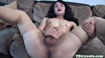 Asian solo, Shemale big cock, Auditions, Audition, Asian ladyboy