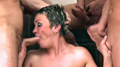 Mom gangbang, Boy and mom, Mom boy, Mature gangbang