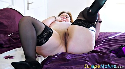 Curvy, Busty granny, Busty mature, Mature solo, Granny solo, Chubby mature