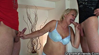 Threesome, Young boy mature, Mature orgy, Granny orgy