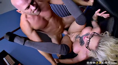 Office boss, Harlow harrison, Tit whipping, Harlow