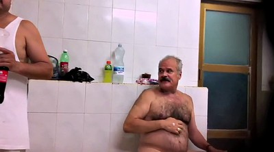 Old gay, Public naked