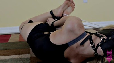 Hogtied, Swimsuit, Bikini, Helpless, Blindfolded