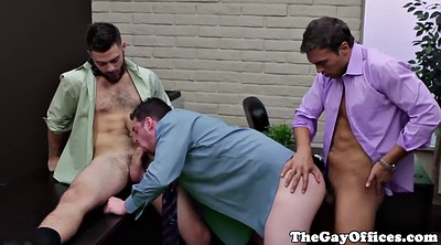 Office gay, Office gangbang, Gay office