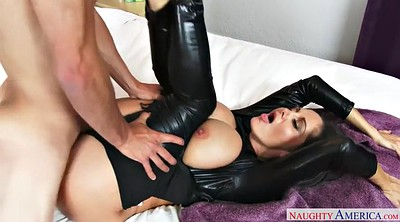 French, Leather, Ava addams
