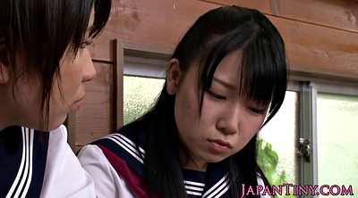 Japanese threesome, Japanese schoolgirl