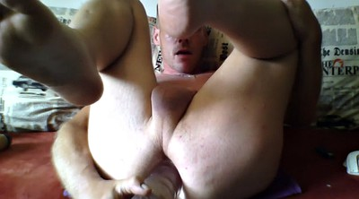 Male, Big dildo anal, Male solo, Anal dildos