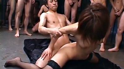 Japanese gangbang, Japanese bukkake, Japanese group, Japanese group sex