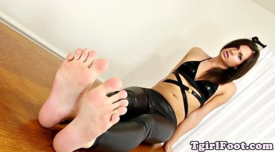 Tgirl, Shemale foot, Shemale feet