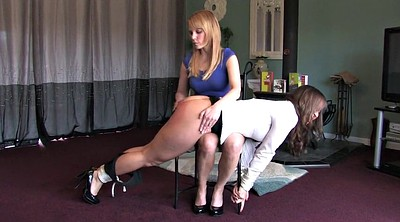Tied, Hand spanking