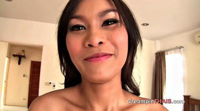 Whore, Creampie pov, Asian whore