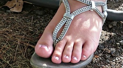 Foot, Diamond, Bbw foot, Bbw feet