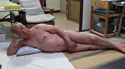 Japanese granny, Asian granny, Japanese handjob, Asian handjob, Japanese big cock, Granny asian