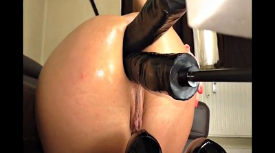 Squirting anal, Sex toy, Anal double