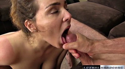 Cum in mouth, Natasha nice, Cum in her