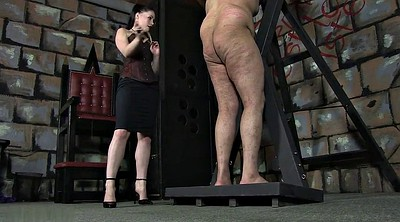 Mistress, Caning, Male, Femdom mistress, Caned, Male slave