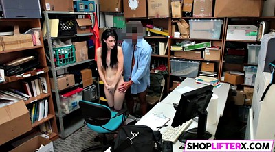 Shoplifter, Shoplifting, Office fuck