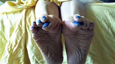 Footing, Sole, Mature feet, Mature foot, Mature soles, Foot mature