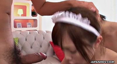 Maid, Asian threesome