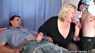 Wife, Young, Grandmas, Mature wife
