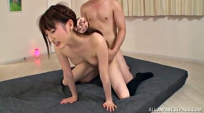 Handjob, Doggystyle, Stocking handjob