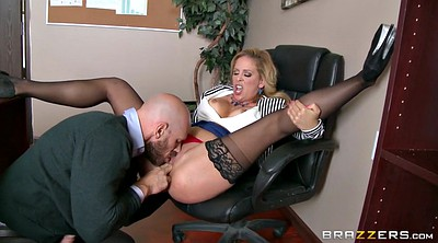 Panties, Job, Office milf, Johnny sins, Cherie deville, Johnny