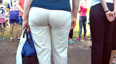 Mature, Pants, White ass, Pant