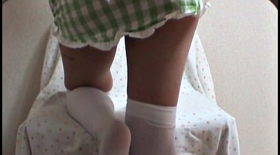 Upskirt, Japanese foot, Peep, Peeping, Japanese cosplay, Foot japanese