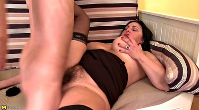 Mature, Taboo, Mom young son, Mom seduce