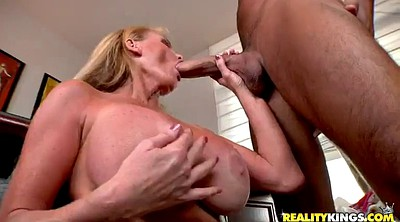 Cumshot, Milf ass, Blonde handjob, Ass milf