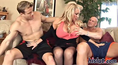 Curvy mature, Chubby threesome, Mature cumshot