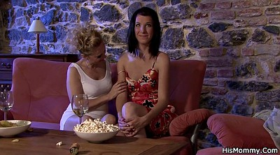 Mom, Mature and young lesbians