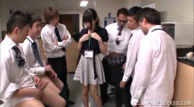 Swallow cum, Asian bukkake, Bukkake asian, Asian office, Office gangbang, Hair cum