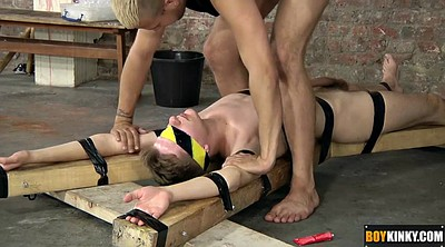 Tied, Young gay, Tie, Blindfold