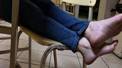 Feet, Toes, Candid, Sole