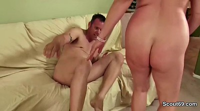 German granny, Big tits fuck