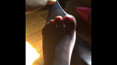 Foot, Pantyhose foot, Pantyhose feet