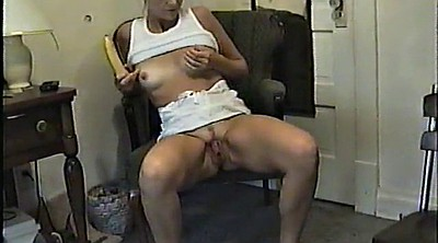 Stand, Standing, Wife slut, Masturbation standing up