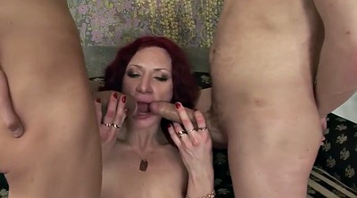 Mature orgasm, Wife threesome, Mature threesome