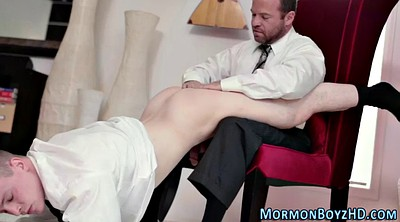 Spank, Punishment, Mormon, Gay handjob
