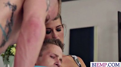 Surprise threesome, Amateur threesome, Amateur bi