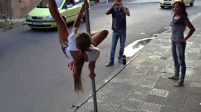 Street, Hot dance, Russian girl