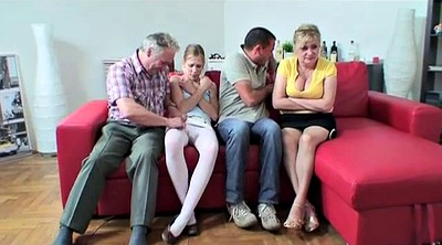 Old and young, Old sex, Granny group