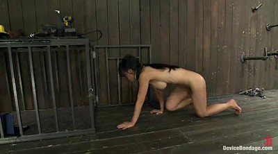 Pain, Asian bondage, Asian bdsm, Vibrator, Painful, Asian pain
